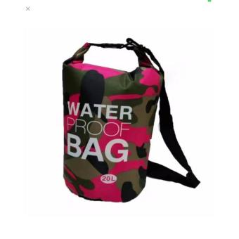 Ocean Pack Waterproof Dry Bag Camouflage 20L(PINK) Price Philippines