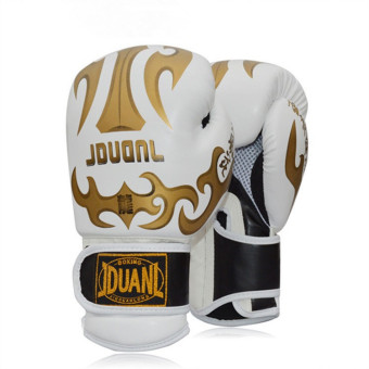 OEM Professional Boxing Gloves Taekwondo Training Gloves(White)