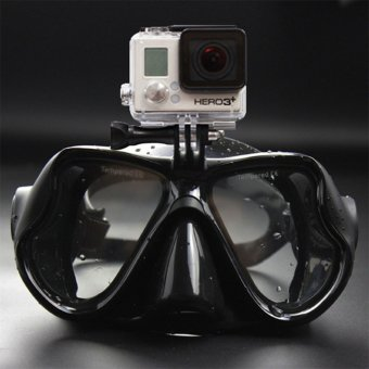 OH Underwater Camera Anti Fog Diving Mask Snorkel Swimming Goggles for GoPro black