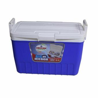 Orocan BIG Ice Box Chest Insulated Cooler 45-Liters with SideHandles