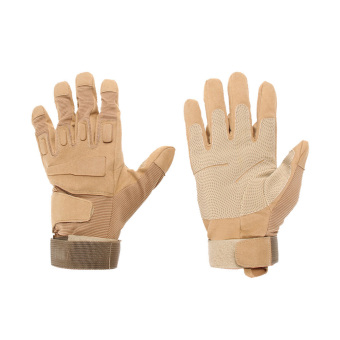 Outdoor Military Airsoft Hunting Paintball Cycling Army Gloves(Khaki M) (Intl)
