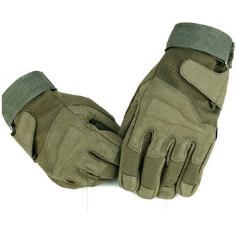 Outdoor Product Airsoft Hunting Cycling Motorcycle Driving TacticalHand Gloves Army Green (Intl) Price Philippines