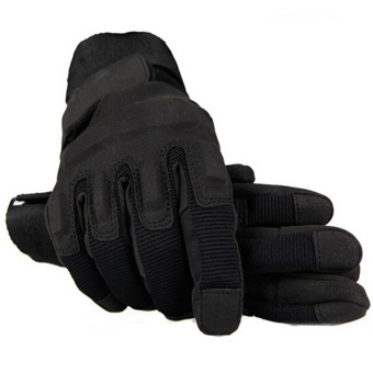 Outdoor Product Airsoft Hunting Hiking Cycling Motorcycle DrivingTactical Hand Gloves Black (Intl) Price Philippines