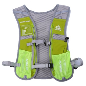 Outdoor Running Water Hydration Backpack Hiking Cycling Sport Bag(green) - intl