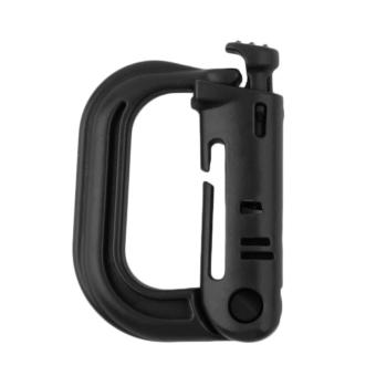 Outdoor Tactical Gear Carabiner Backpack Keychain D-Ring SpringSnap Clip
