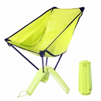 Outdoor Ultralight Portable Folding Chair with Carrying Case forCamping Fishing Backpacking Green