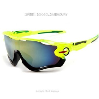 Outdoor Unisex Sunglasses Glasses Polarized For UV400 Cycling Bicycle Driving - intl