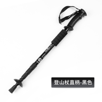 Outdoor walking climbing equipment mountaineering cane hiking stick