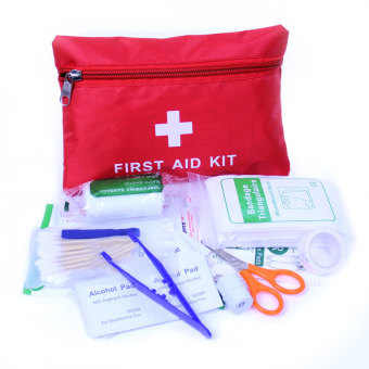 PAlight Outdoor First Aid Survival Bag Emergency Medical Pack Kit(13Pcs)