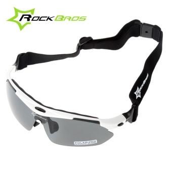 Polarized Cycling Sun Glasses Outdoor Sports Bicycle Glasses BikeSunglasses 29g Goggles Eyewear 5 Lens - intl