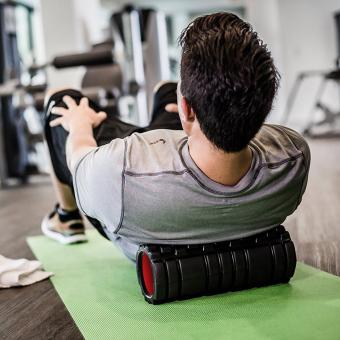 PopSky Foam Roller for Muscle Massage - Exercises & MassagesBack - 4