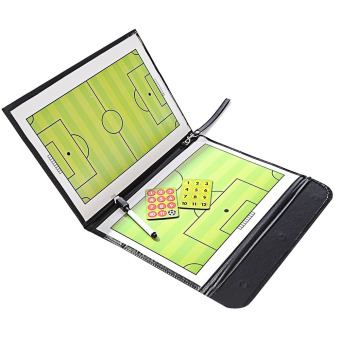 Portable Folding Football Soccer Coach Magnetic Erasable Dry Erase Board Studying Winning Strategy Coaching Board