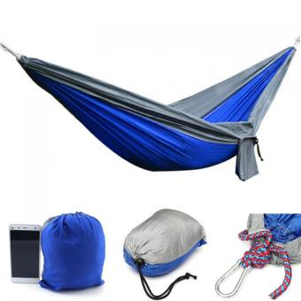 Portable Parachute Hammock Nylon Double Swing Bed for Camping Hiking Travel 270 x 140CM (Intl) (Intl) - Intl Price Philippines