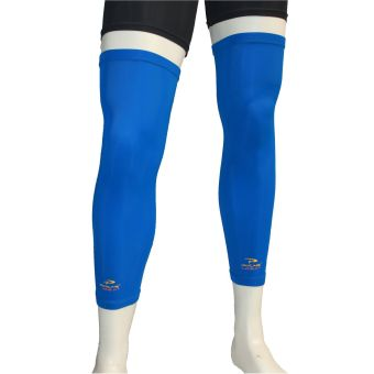 Procare Combat CS26AB Compression Leg Sleeves with Top Anti-Slip(Blue)