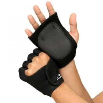 PROCARE PROTECT #1009B Weight Lifting Gloves 4mm Thick Neoprene, Unisex Pair (Black)