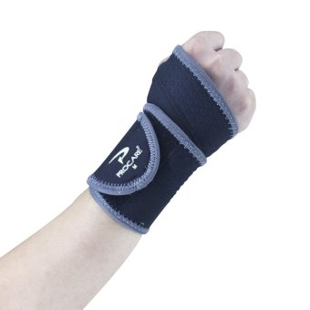 PROCARE PROTECT #2010 Wrist Support Wrap, 4mm Thick Neoprene(Black)