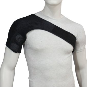 PROCARE PROTECT #4020 Shoulder Support Brace Adjustable for Left or Right Shoulder, 4mm Thick Neoprene (Black)
