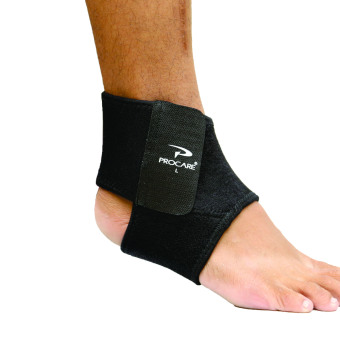 PROCARE PROTECT #8906 Ankle Support Brace Adjustable, 4mm Thick Neoprene for Left or Right Ankle