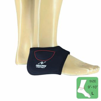 PROCARE PROTECT Heel Support Padded Ankle Bones, AdjustableTightener 4mm Thick Neoprene, Fits Left or Right Unisex SIZE(LARGE)