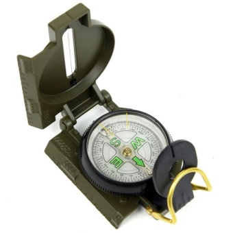 Professional Compass Military Army Geological Compass For Outdoor Hiking Camping Survival Mini Boussole Handheld Compas   - intl - 2