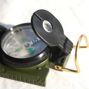 Professional Compass Military Army Geological Compass For Outdoor Hiking Camping Survival Mini Boussole Handheld Compas   - intl - 4