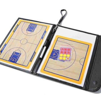 Professional Magnetic Baketball Strategy Board Tactics Boardbasketball Coaching Dry Erase Clipboard Board Portable - intl