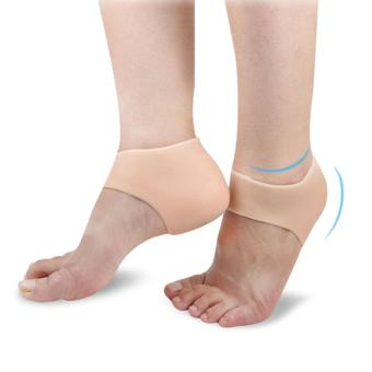 Protective Cracked Feet Pressure Pain Relief Socks Silicone GelCushion Pad Heel Liner for Foot Improved Circulation CompressionEffective Support for Arthritis Joint Pain Relief - intl - 2
