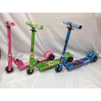 Quality Ride-On Push Scooter for Kids with Laser Wheel