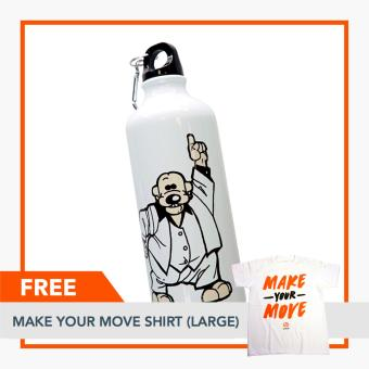 Rappler Xchange Limited Edition Pugad Baboy Tumbler - Disco PolgasFREE Make Your Move Shirt (Large) Price Philippines