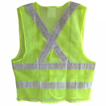 Reflective Safety Products Worker Vest,(Green) - 2