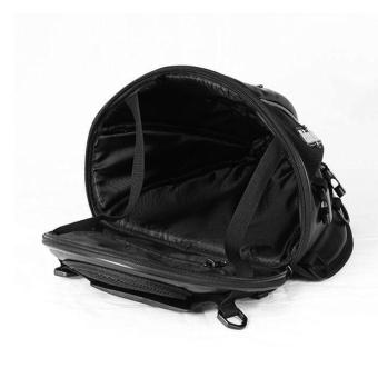 Riding tribe Leather Waterproof Saddle Bags Motorcycle Bag MotoTank Mochila Moto Pierna Bolsa Motocicleta Racing Oil Tank Bag -intl - 3