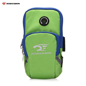 ROBESBON Running Sports Arm Phone Bag for 4 - 6 inch Mobile - intl