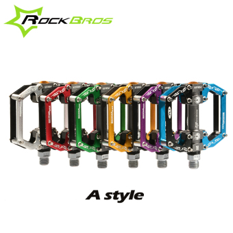 RockBros A Style 6 Colors Mountain Road Bicycle BMX MTB Bike Pedals Ultralight Aluminium Alloy Sealed