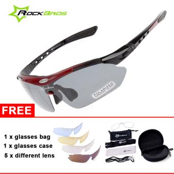 ROCKBROS Cycling Sunglasses Outdoor Sports Glasses Polarized 100%UVA UVB