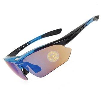 ROCKBROS Cycling Sunglasses Outdoor Sports Glasses Polarized 100%UVA UVB - 3