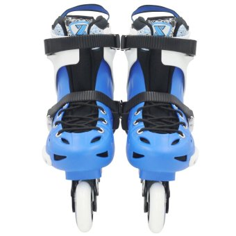 Roller Blade Speed Skate High Point Sports Inline Skates(Blue/Black) - 2