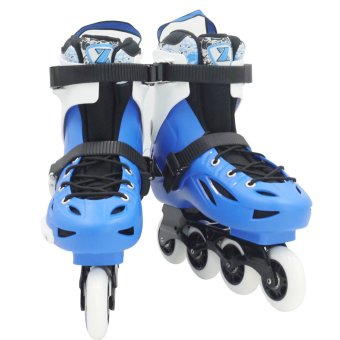Roller Blade Speed Skate High Point Sports Inline Skates(Blue/Black)