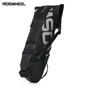 ROSWHEEL 10L MTB Cycling Bicycle Water Resistant Bike Pannier Bag Saddle Rear Seat Carrier - intl