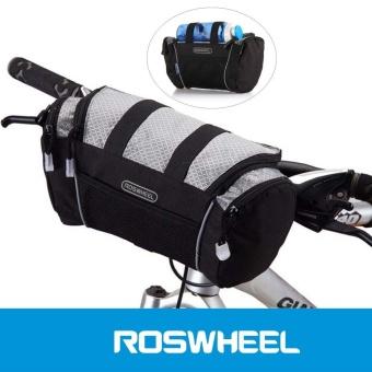 Roswheel 5L Bike Handlebar Bag Bicycle Front Tube Pocket Shoulder Pack Riding Cycling Supplies - intl