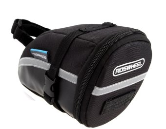 RosWheel Bike Rear Under Seat Saddle Bag (Black) #0233