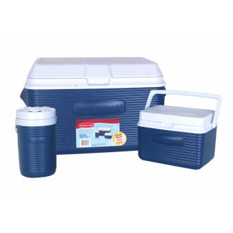Rubbermaid 34-Quart 3-Piece Super Value Pack Cooler