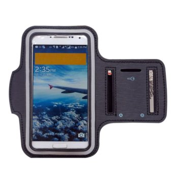 S & F Sports Armband Case Cycling Running Cover Holder For Phone grey - INTL