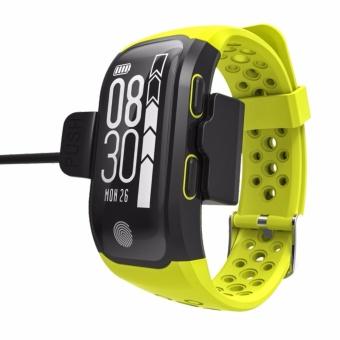 S908 GPS Sport Smart Band IP68 professional waterproof Heart rate Auto LAP Bluetooth Nordic 4.0 - intl - 5