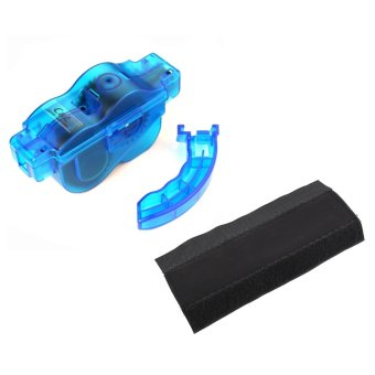 Set of Bike Multi-Function Chain Cleaner #0017 With 1pc Bike Chain Frame Protector Guard Pad