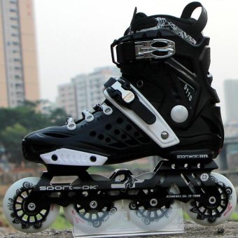 Single row rollerblading (Intl)