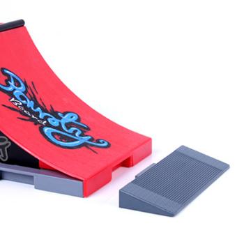 Skate Park Ramp Parts for Tech Deck Fingerboard Finger Board F - 5