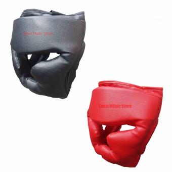 Sonix Boxing Head Gear set of 2 (black and red)