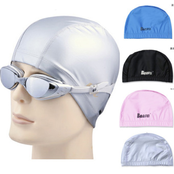 SPA for men and women with long hair large swimming cap