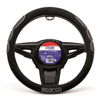 Sparco SPC1106 Steering Wheel Cover (Black)