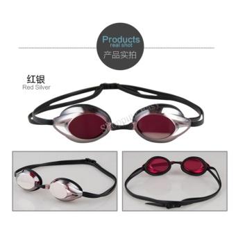 Speedo Waterproof Anti-fog Eye swimming goggles Swim Glasses PC Lens Silicone Strap - intl - 2